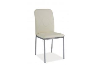 HK-623 jedálenská stolička, krém/chróm