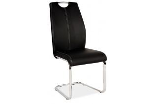 HK-664 jedálenská stolička, čierna