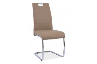 HK-666 jedálenská stolička, tmavobéžová