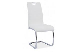 HK-666 jedálenská stolička, biela