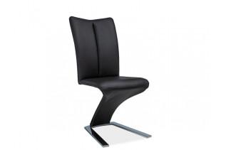 HK-040 jedálenská stolička, čierna
