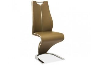 Jedálenská stolička HK-080, cappuccino