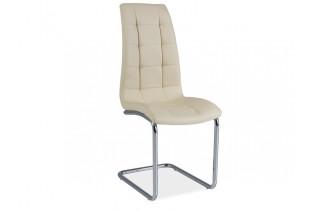Jedálenská stolička HK-103, krémová
