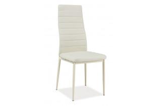 VERME jedálenská stolička, krémová/krémová