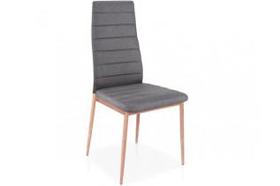 HK-264 jedálenská stolička, šedá/dub