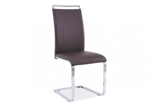 Jedálenská stolička HK-334, hnedá