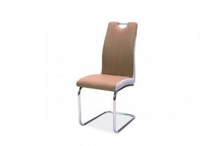 HK-342 jedálenská stolička, cappuccino/biela