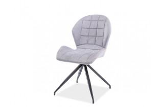 HALLS II jedálenská stolička, svetlošedá