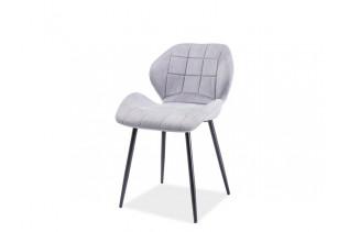 HALLS jedálenská stolička, svetlošedá
