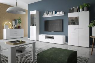 HILTA biela obývacia zostava
