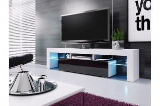 RIVA televízny stolík, čierna