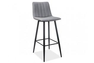 JOLIN barová stolička H-1, šedá