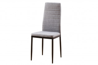 HRON 5 jedálenská stolička, sivá/čierna