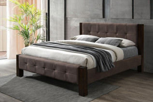 KARLOS čalúnená manželská posteľ 180
