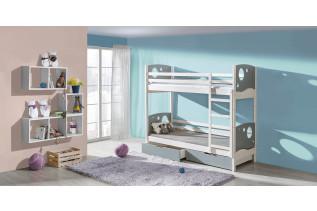Poschodová posteľ Kevin