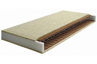 KOKA pružinový matrac 90 x 200, poťah snow