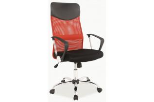 Q-025 kancelárske kreslo červené