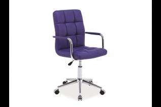 Kancelárske kreslo K-022, fialové