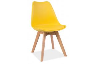 CRIS jedálenská stolička, žltá