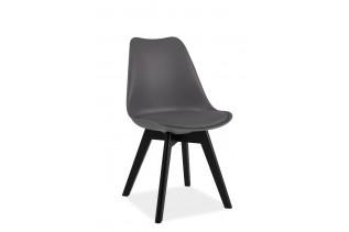CRIS II jedálenská stolička, čierna/sivá