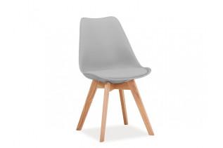 CRIS jedálenská stolička, svetlá šedá