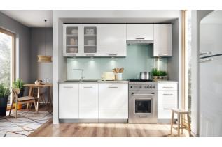 AURA kuchyňa 240 cm, biela