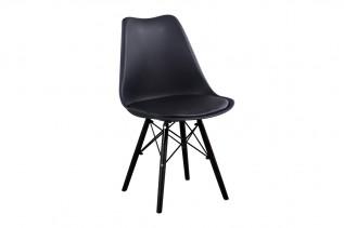MAGMA plastová stolička , čierna