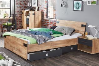 posteľ - úložný priestor