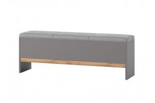 LIVIGNO lavica k posteli so sedákom a ÚP 65