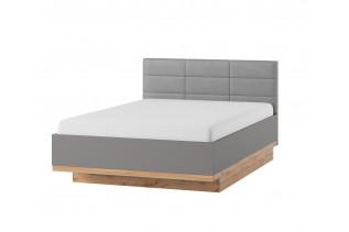 LIVIGNO manželská posteľ s prešívaným čelom 66