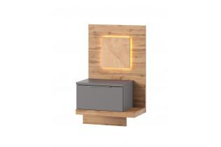 LIVIGNO moderný nočný stolík s LED svetlami 69, pravý