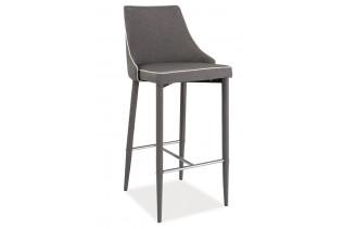 LOKKO barová stolička, šedá