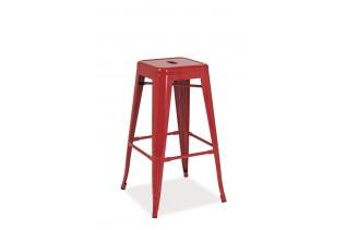 LANG barová stolička, červená