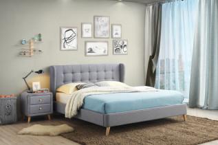 RIANA čalúnená manželská posteľ 180