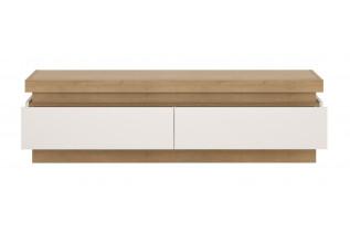 LYNO F01 televízny stolík 2S, lyon jasný