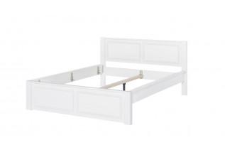 MADYSON 21 biela manželská posteľ z masívu 160