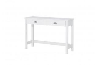 MADYSON biely pracovný stolík z masívu 23