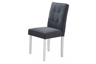 Jedálenská stolička MATES šedá/biela.