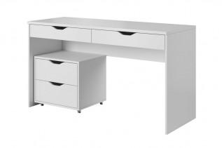 TAMI písací stôl biely