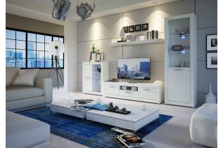 Obývacia stena MATIX, biela