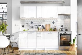 AJVA kuchynská zostava 180/240, biela