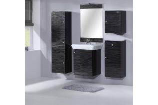 MEVEA kúpeľňová zostava, čierna