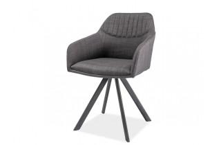 HILTON II jedálenská stolička, sivá