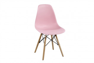 Moderná stolička MODENA II, buk/ružová