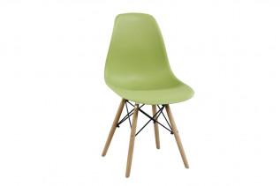 Moderná stolička MODENA II, buk/olivová
