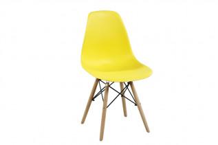 Stolička MODENA, buk/žltá