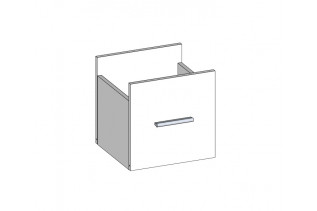 MADOS úložný box/zásuvka do regála