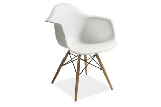 MONDIS stolička, buk/biela
