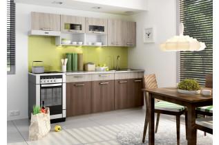 MORENO kuchyňa dub sonoma/škoricová akácia