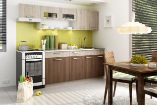 MORENO kuchyňa 240 cm, dub sonoma